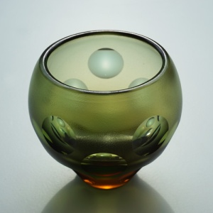 Kugelschliff-Vase